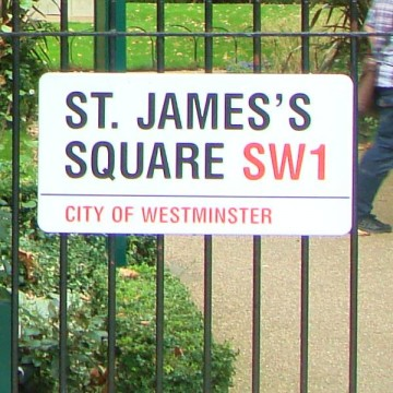 St James's Square - Place Name