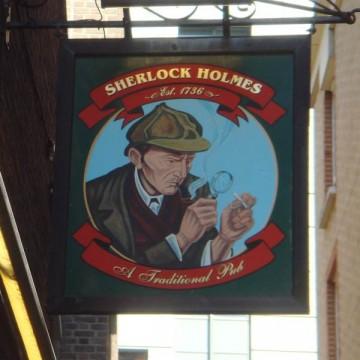 Sherlock Holmes - Pub Sign